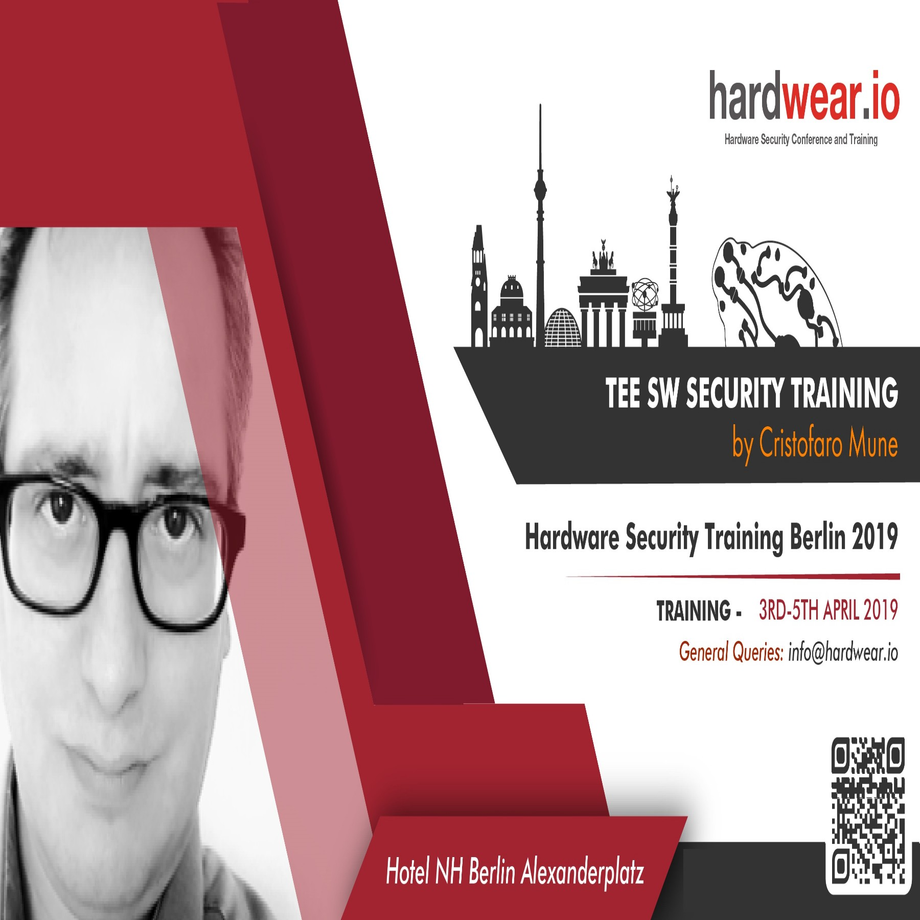 TEE SW Security Training | hardwear io Berlin 2019