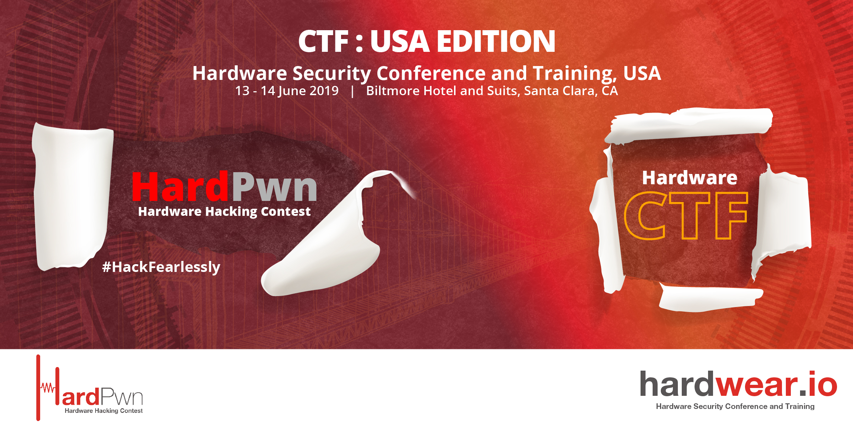 Hardware CTF | hardpwn - Hardware Hacking Contest | hardwear io USA 2019